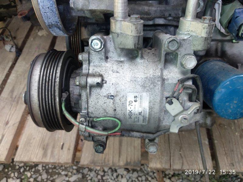 Компрессор кондиционера Honda Fit L13A (б/у)
