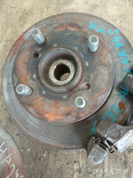 Тормозной диск Suzuki Alto HA24S K6A передний правый (б/у)