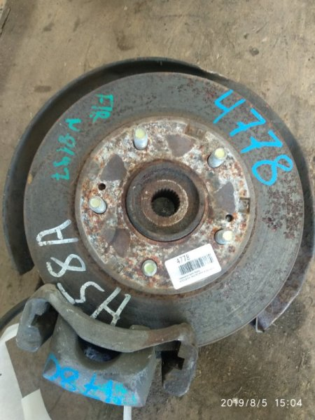 Тормозной диск Mitsubishi Pajero Mini H58A 4A30 передний (б/у)
