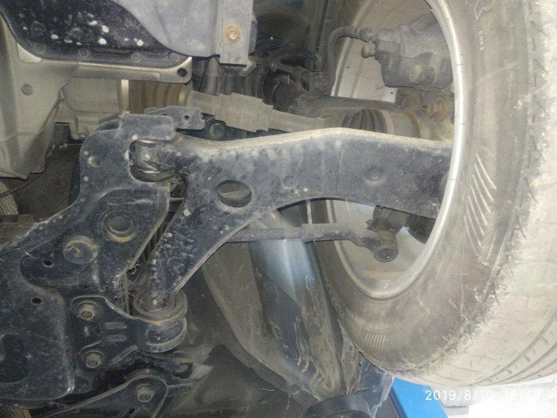 Рычаг подвески Mazda 3 (Axela) 2 BL LF17 2008 передний левый нижний (б/у)