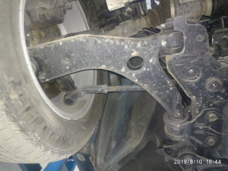 Рычаг подвески Mazda 3 (Axela) 2 BL LF17 2008 передний правый нижний (б/у)