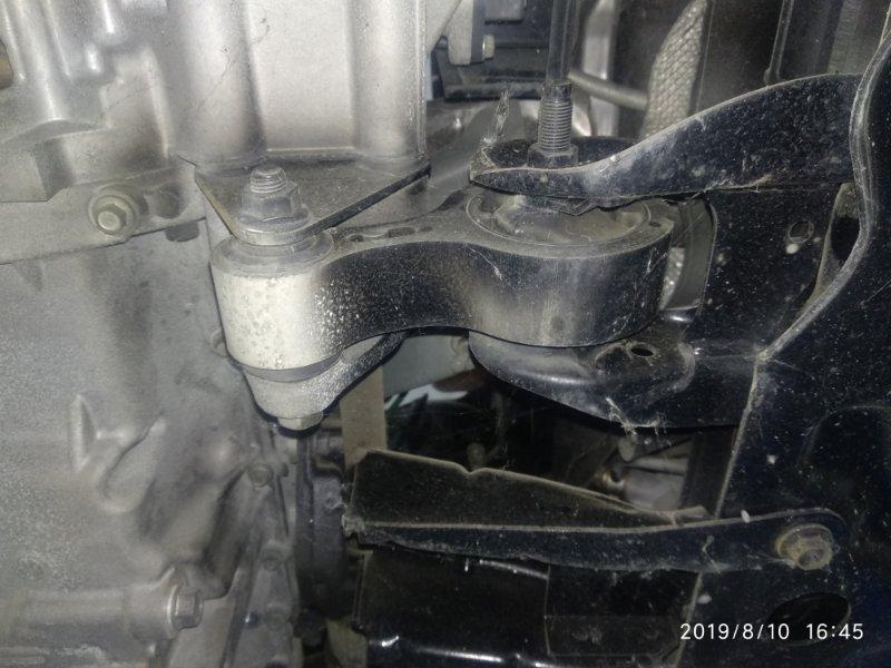 Подушка двс Mazda 3 (Axela) 2 BL LF17 2008 нижняя (б/у)