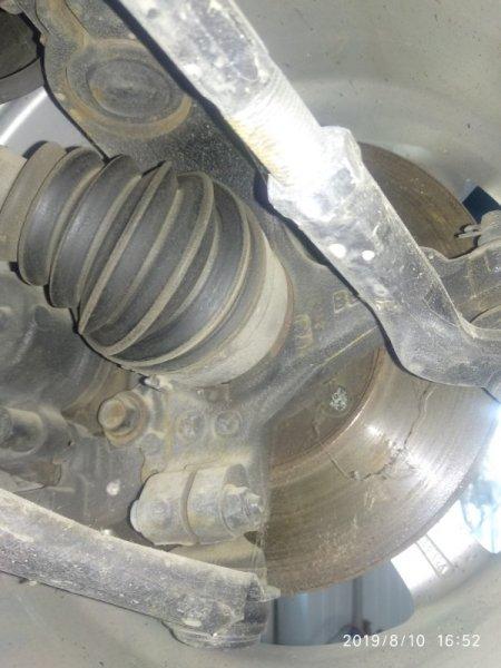 Поворотный кулак Mazda 3 (Axela) 2 BL LF17 2008 передний правый (б/у)