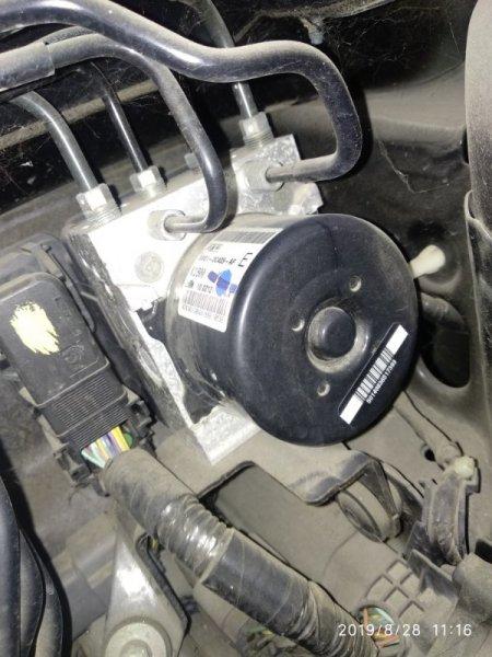 Блок abs Mazda 3 (Axela) 2 BL LF17 2008 (б/у)