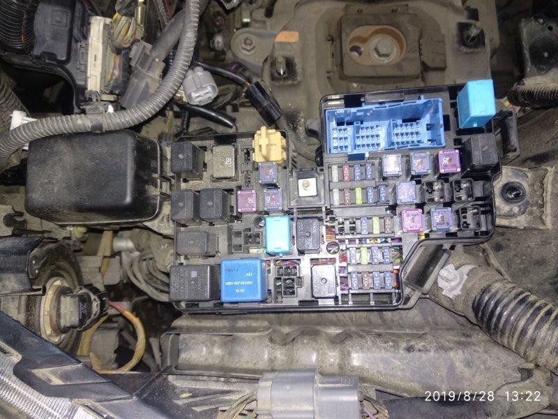 Блок предохранителей Mazda 3 (Axela) 2 BL LF17 2008 (б/у)