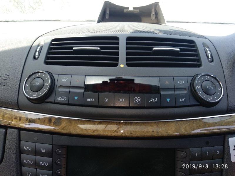 Блок управления климат-контролем Mercedes Benz E 350 W211 272964 2005 (б/у)