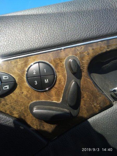Кнопка регулировки сиденья Mercedes Benz E 350 W211 272964 2005 передняя правая (б/у)
