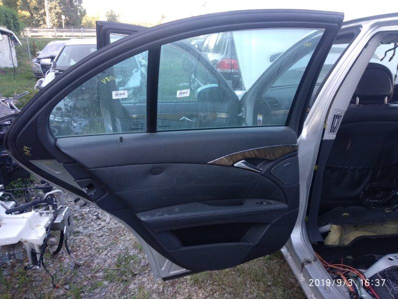 Уплотнительная резинка двери Mercedes Benz E 350 W211 272964 2005 задняя левая (б/у)
