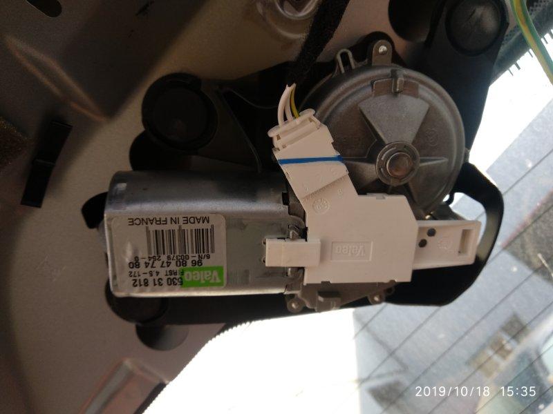 Мотор дворников Peugeot 308 T7 EP6CDT 2007 (б/у)