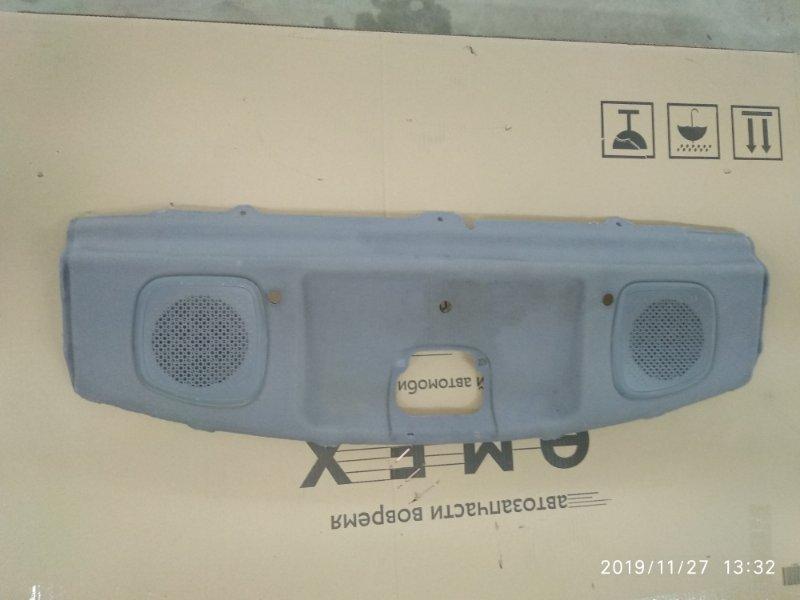 Полка багажника Hyundai Accent LC2 G4EC-G 1999 задняя (б/у)