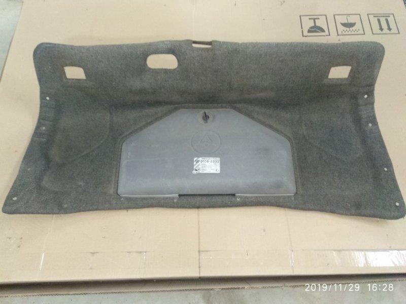 Обшивка крышки багажника Bmw 5 Series E34 M51D25 задняя (б/у)