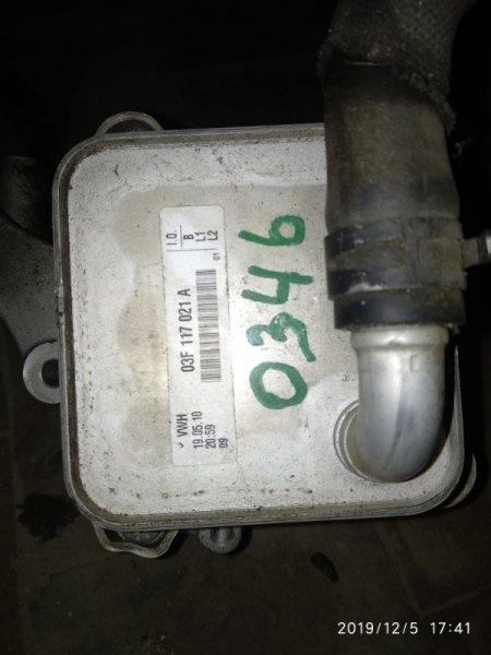 Радиатор масляный Volkswagen Golf VI CBZB 2008 (б/у)