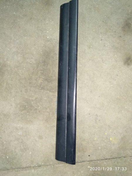 Накладка на порог внутренняя Bmw X3 2.5Si E83 N52B25A 2003 передняя правая (б/у)
