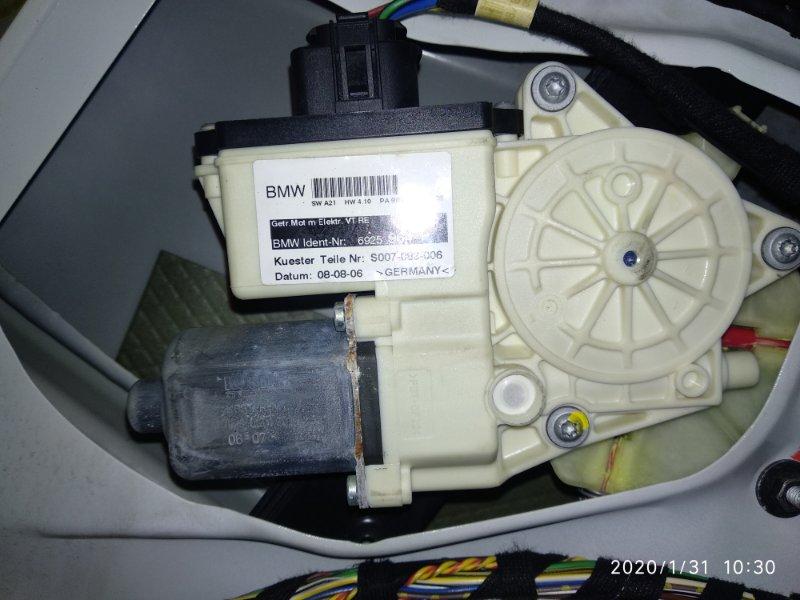 Мотор стеклоподъемника Bmw X3 2.5Si E83 N52B25A 2003 передний правый (б/у)