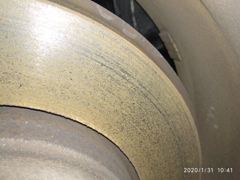 Тормозной диск Bmw X3 2.5Si E83 N52B25A 2003 задний правый (б/у)