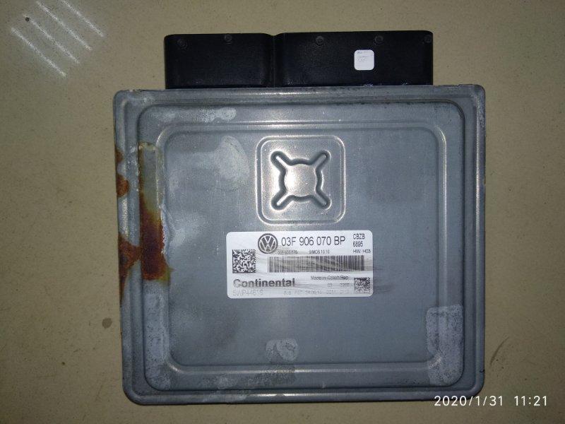 Блок управления двигателем Volkswagen Golf VI CBZB 2008 (б/у)