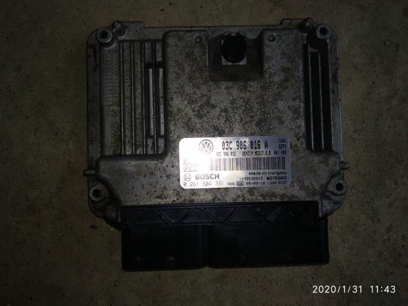 Блок управления двигателем Volkswagen Golf VI CAXA 2009 (б/у)