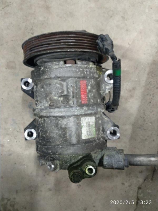 Компрессор кондиционера Nissan Serena GF-PC24 SR20DE (б/у)