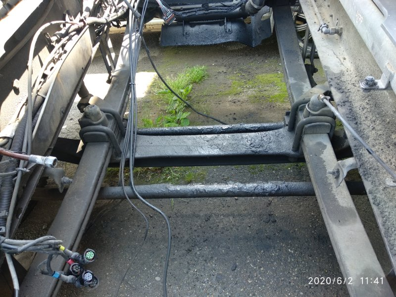 Балка под двс Scania 4 Series DT12 14 L01 20051031 передняя (б/у)