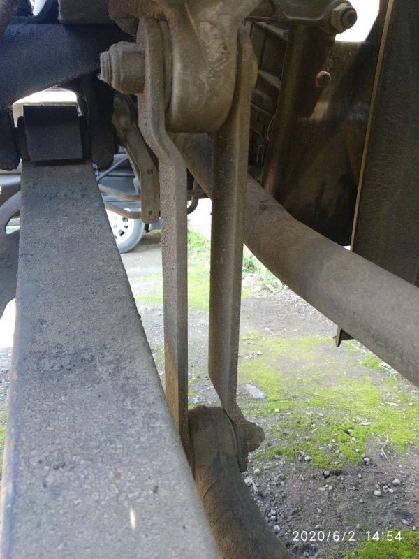 Стойка стабилизатора Scania 4 Series DT12 14 L01 20051031 передняя правая (б/у)