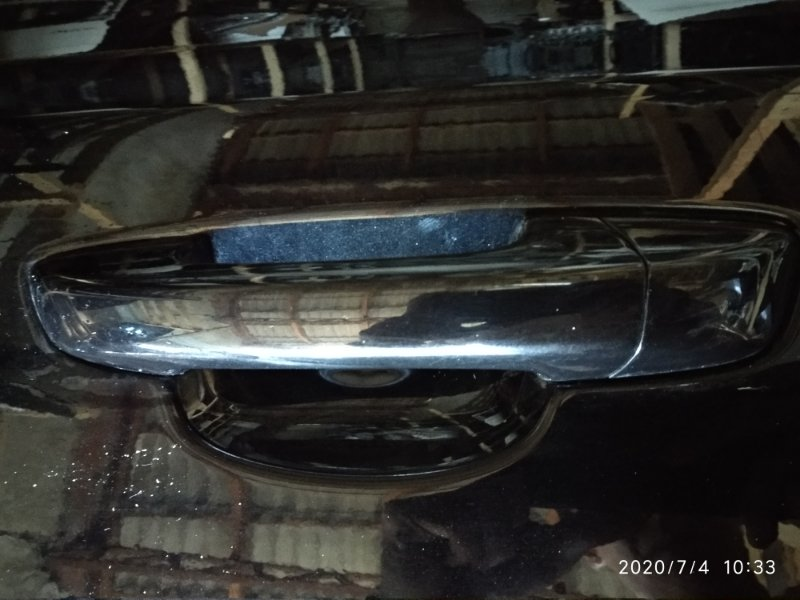 Ручка двери внешняя Volkswagen Golf VI CAXA 2008 задняя левая (б/у)