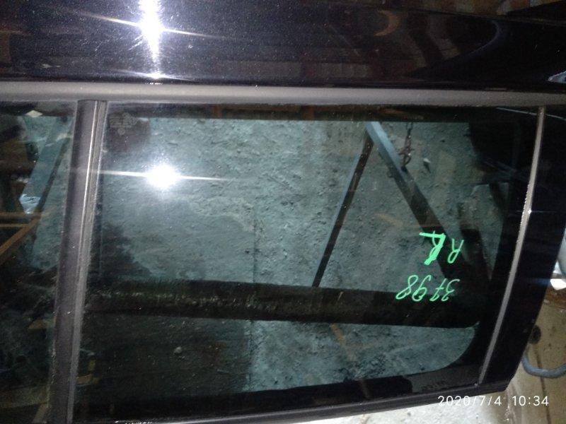 Стекло двери Volkswagen Golf VI CAXA 2008 заднее левое (б/у)