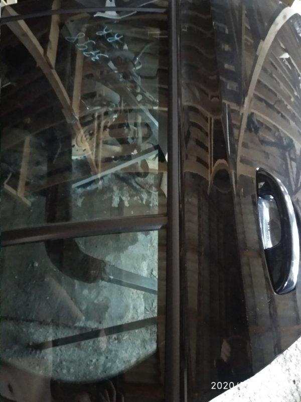 Молдинг стекла двери прижимной Volkswagen Golf VI CAXA 2008 задний правый (б/у)