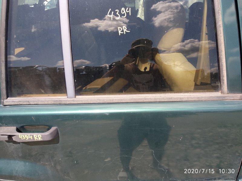 Молдинг стекла двери прижимной Jeep Zg Grand Cherokee (Steyr) ZJ MAGNUM 318 1998 задний правый (б/у)