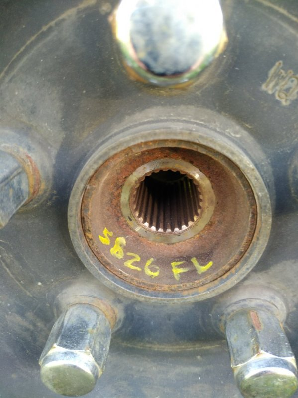 Ступичный узел Toyota Noah ZRR70G 3ZR FE 2007 передний левый (б/у)