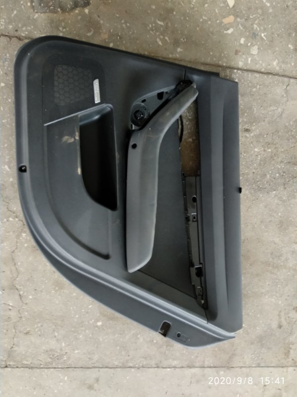Обшивка двери Audi A4 B7 ALT 2003 задняя правая (б/у)