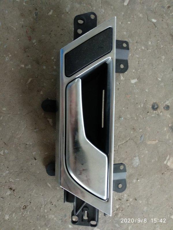 Ручка двери внутренняя Audi A4 B7 ALT 2003 задняя правая (б/у)