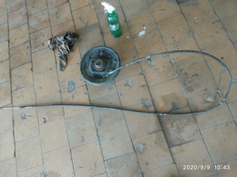 Трос ручника Toyota Noah AZR60 1AZ FE 2001 задний левый (б/у)