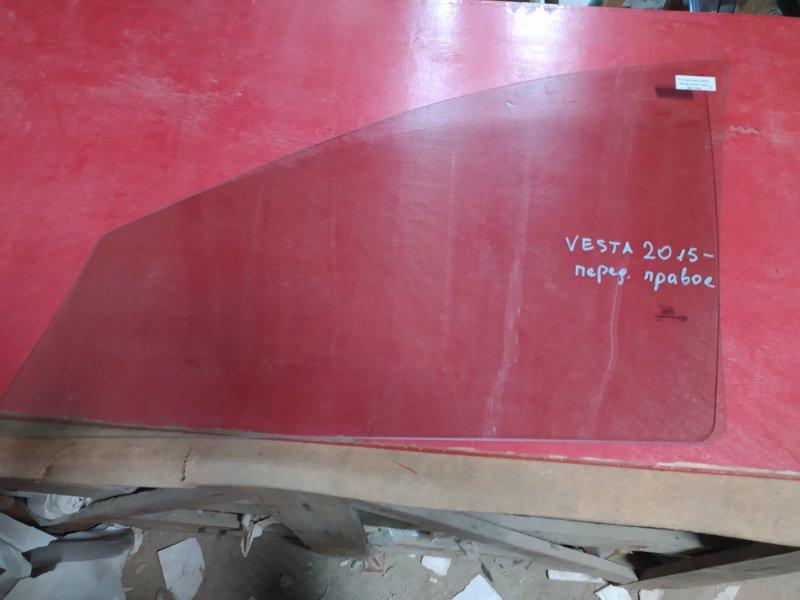 Стекло двери Lada Vesta 2015 переднее правое
