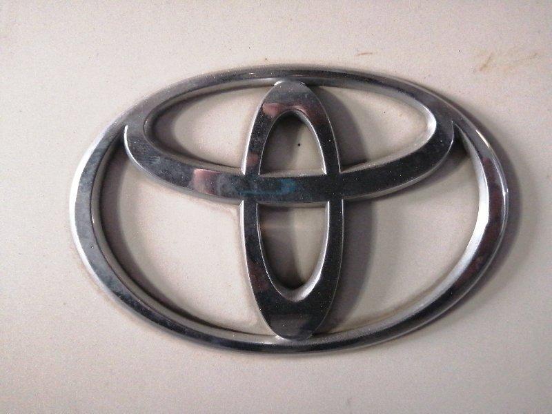 Эмблема Toyota Hiace Regius RCH47 задняя (б/у)