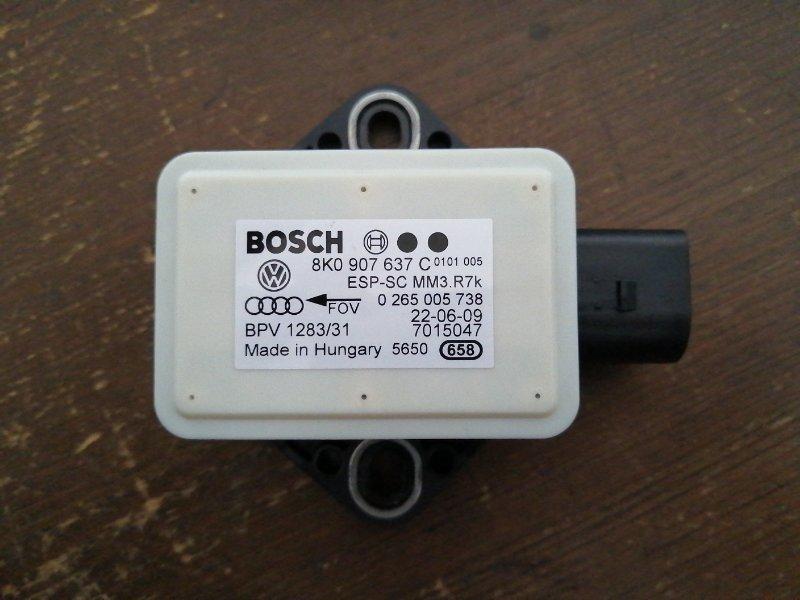 Датчик ускорения Audi A4 B8 CDNC 2008 (б/у)