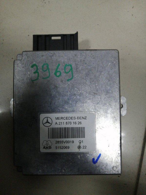Блок управления mmi Mercedes Benz E350 Iii W211 M272 2002 (б/у)