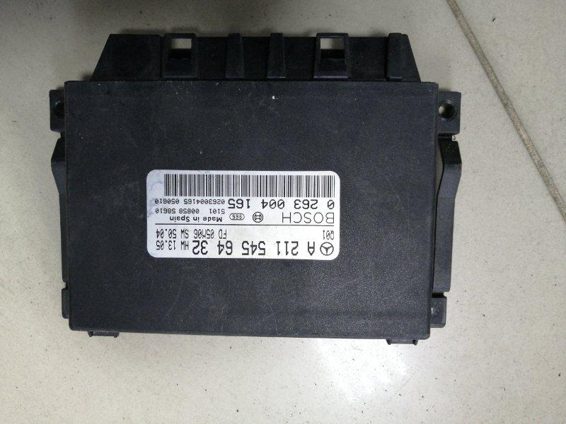 Блок управления парктроником Mercedes Benz E350 Iii W211 M272 2002 (б/у)