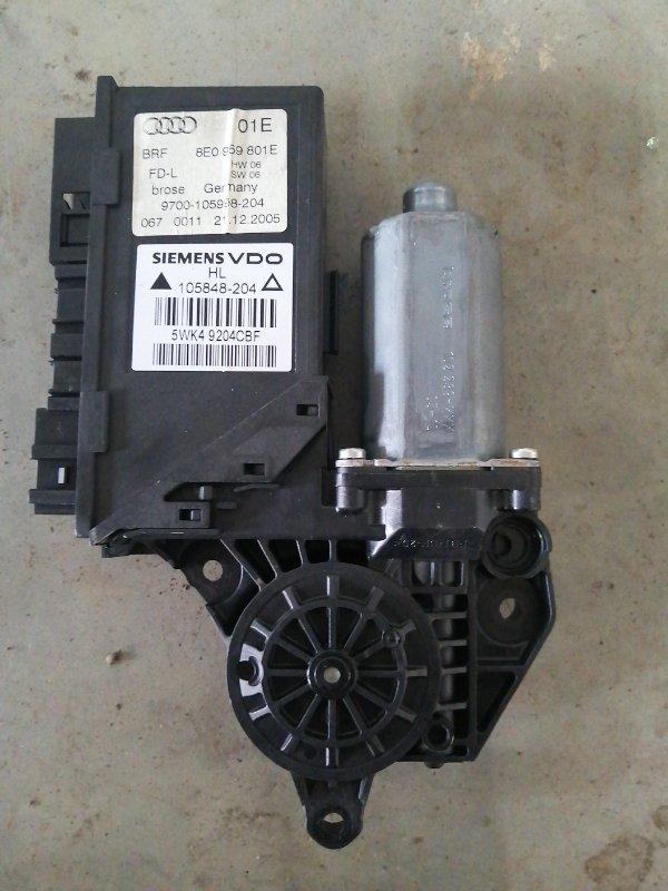 Мотор стеклоподъемника Audi A4 B7 ALT 2004 задний левый (б/у)