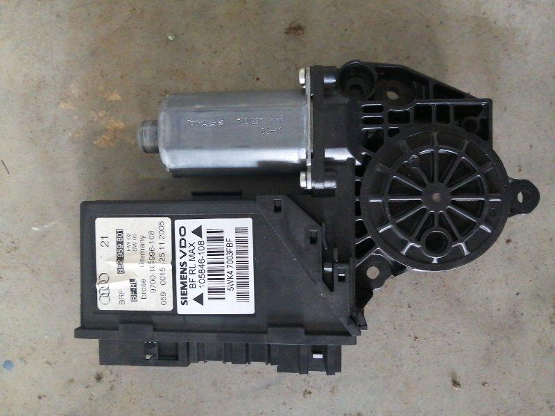 Мотор стеклоподъемника Audi A4 B7 ALT 2004 передний левый (б/у)