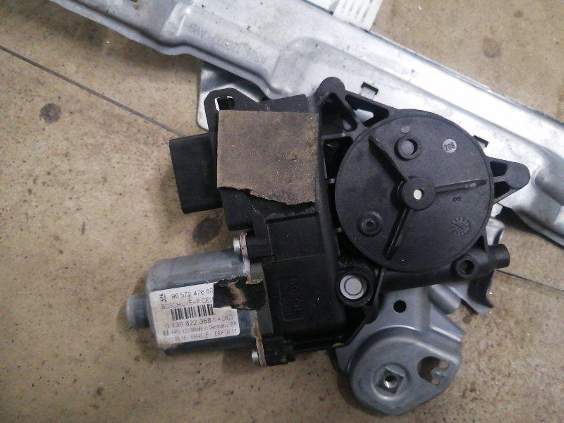 Мотор стеклоподъемника Peugeot 308 T7 EP6CDT 2007 передний левый (б/у)