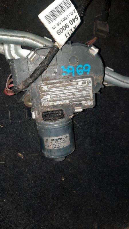 Мотор дворников Mercedes Benz E350 Iii W211 M272 2002 (б/у)