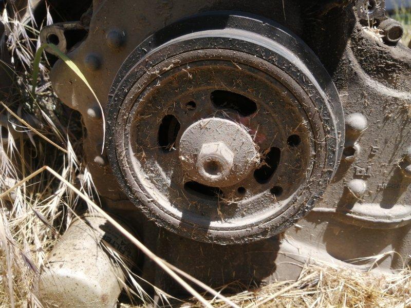 Шкив коленвала Nissan Presage U31 QR25DE (б/у)