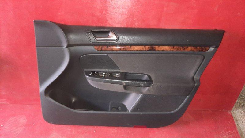 Обшивка двери Volkswagen Jetta V 1K2 BVY 2005 передняя правая (б/у)