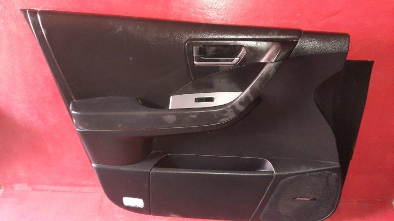 Обшивка двери Nissan Murano Z50 VQ35DE 2002 передняя левая (б/у)