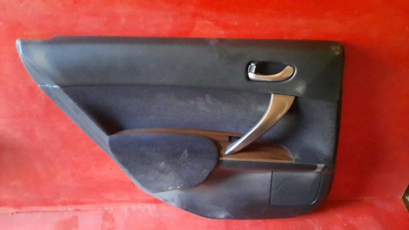 Обшивка двери Nissan Teana J32 VQ25DE 2006 задняя левая (б/у)