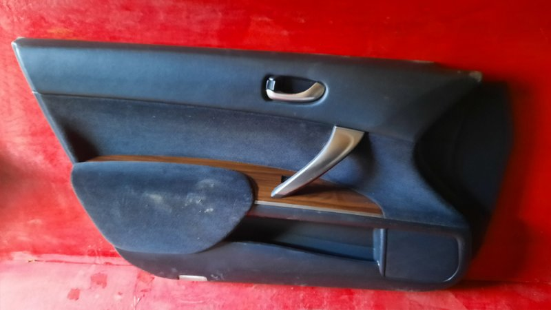 Обшивка двери Nissan Teana J32 VQ25DE 2006 передняя левая (б/у)