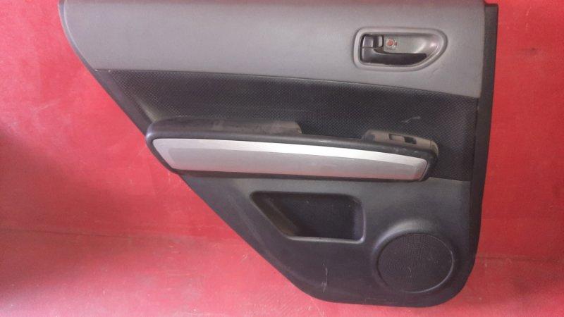 Обшивка двери Nissan X-Trail NT31 MR20DE 2007 задняя левая (б/у)