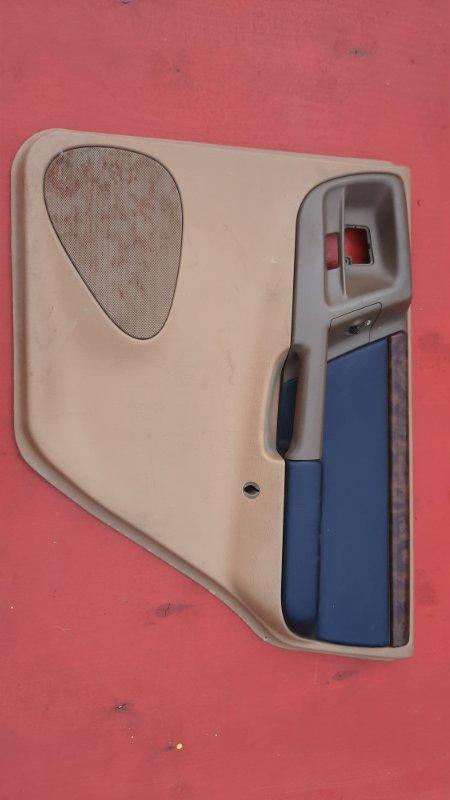 Обшивка двери Jeep Zg Grand Cherokee (Steyr) ZJ MAGNUM 318 1998 задняя правая (б/у)
