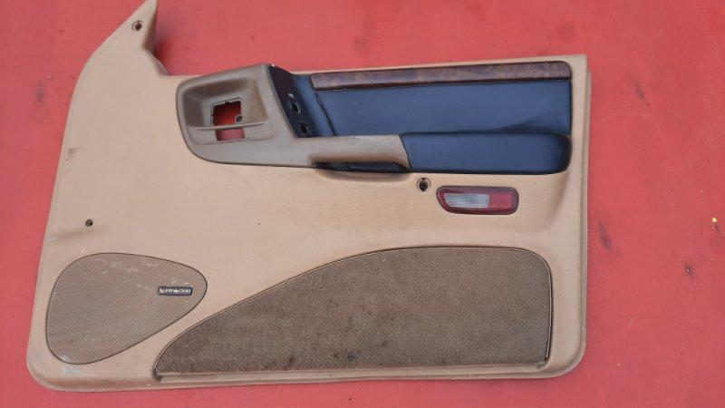 Обшивка двери Jeep Zg Grand Cherokee (Steyr) ZJ MAGNUM 318 1998 передняя правая (б/у)