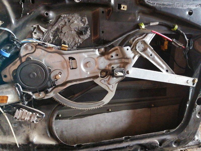 Механизм стеклоподъёмника Bmw 5 Series E34 M51D25 передний правый (б/у)